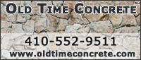 Website for Old Time Concrete, LLC