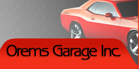 Website for Orem's Garage, Inc.