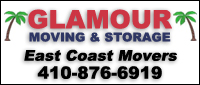 Website for Glamour Moving Company, Inc.