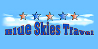 Website for Blue Skies Travel