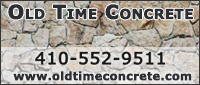 Website for Old Time Concrete, LLC