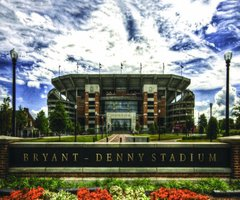 Bryant-Denny Front View