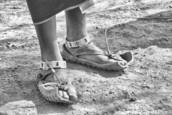 Maasai shoes