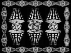 Escher_s_polka_dot_lampshades
