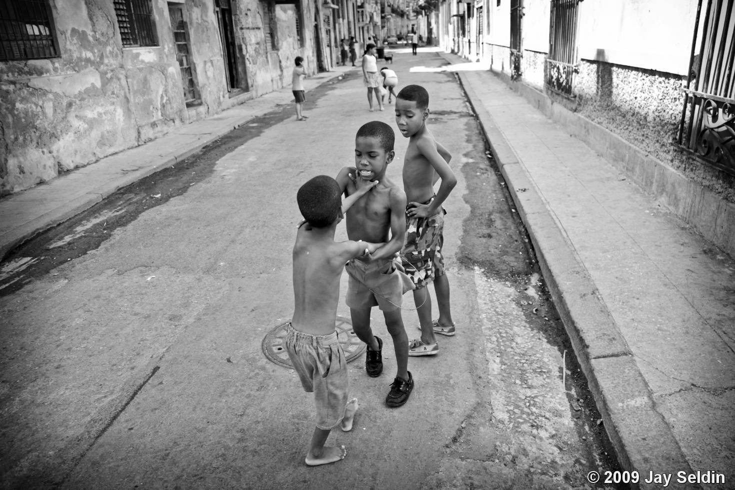 street kids playing by jay seldin black amp white magazine