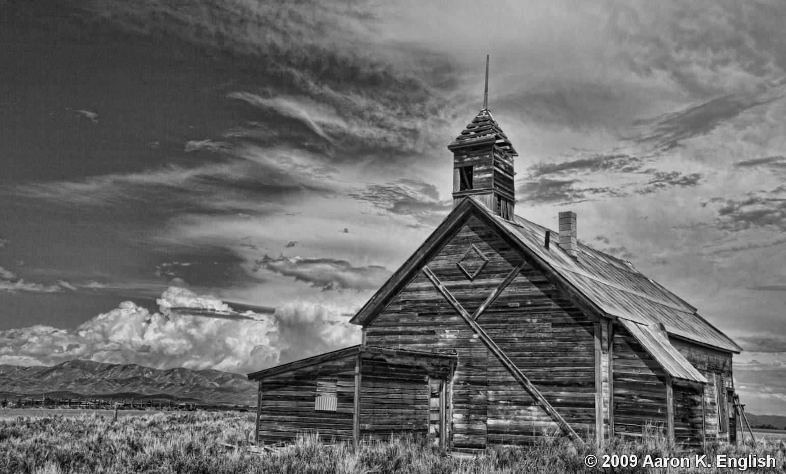 Old school house by aaron k english black white magazine for Best old school house