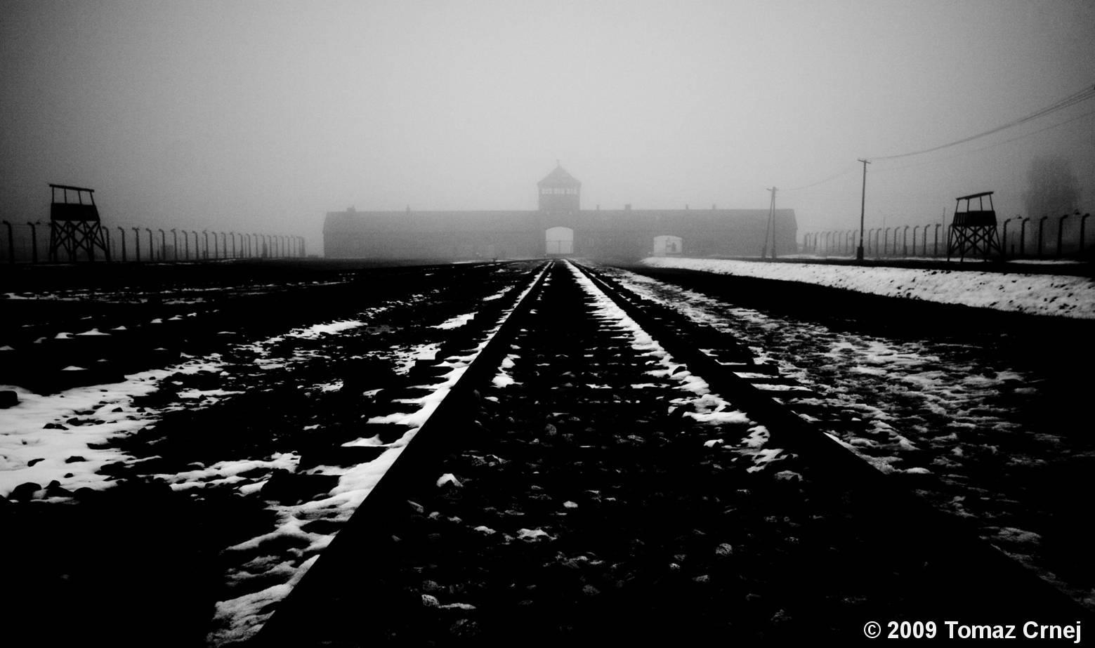 Auschwitz Sad Landscape #3 by Tomaz Crnej :: Black & White Magazine