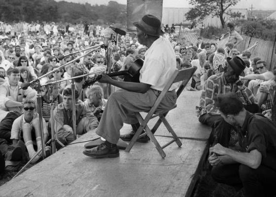 Mississippi john hurt at newport