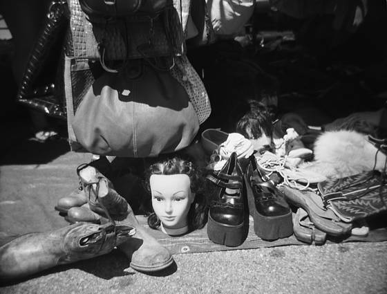 Head and shoes