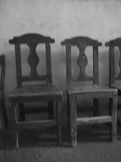 Chairs in chapel