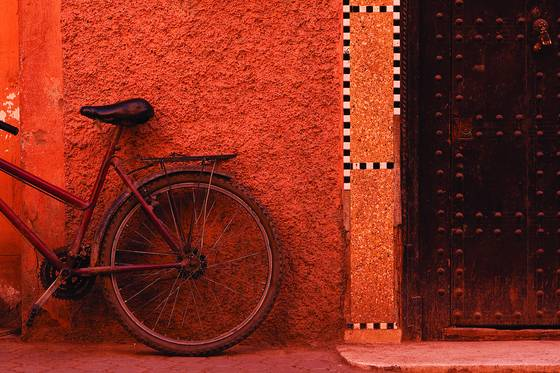 Bike and doorway