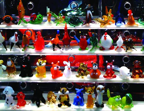Glass minatures