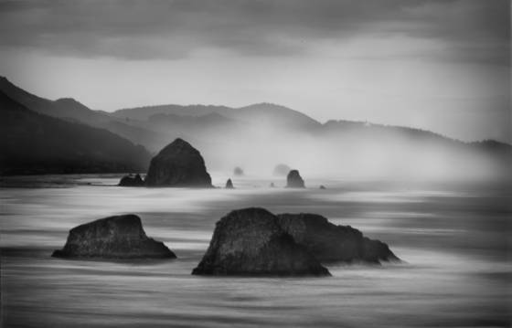Winter at canon beach