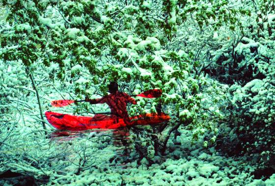Snow_kayaking