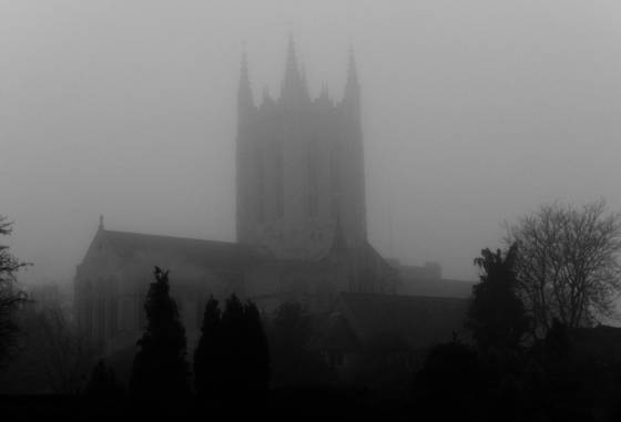 Cathedral fog