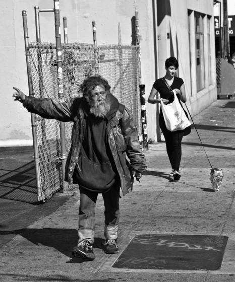Mission street residents
