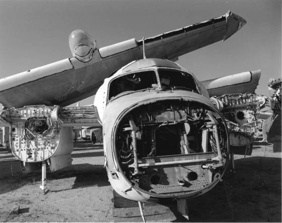 Aircraft salvage 9