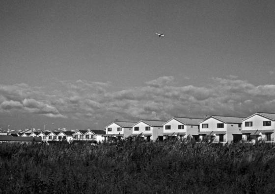 Prairie houses and plane