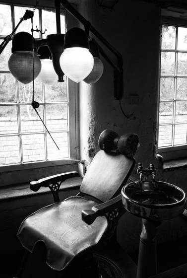 Victorian dentist chair   quary bank mill