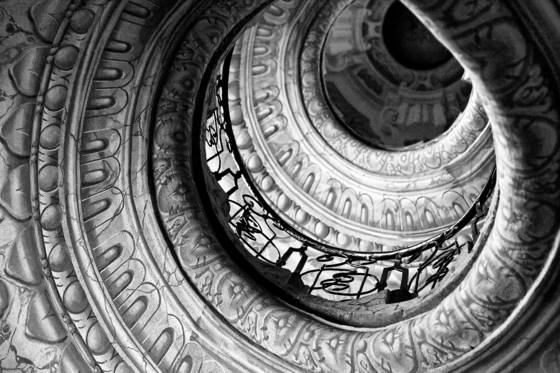 Abbey staircase