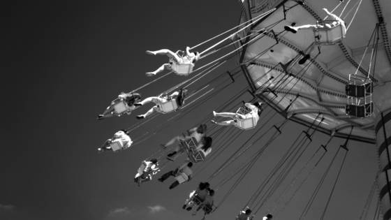 Swing at navy pier