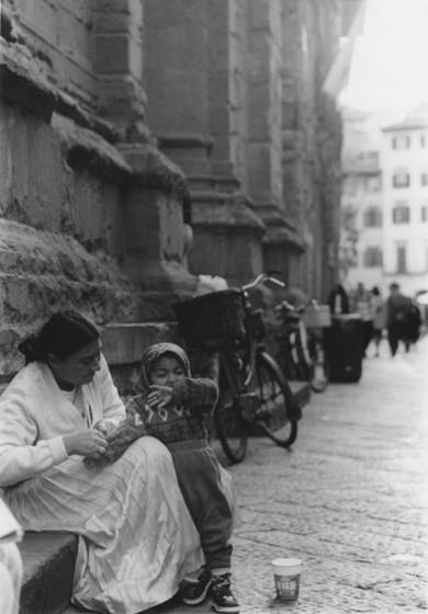 Concetta with child