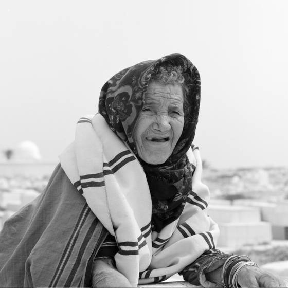 The old berber women