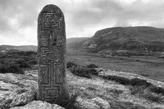 Turas cholmcille standing stone 2