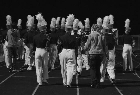 Marching away buford ga 2012