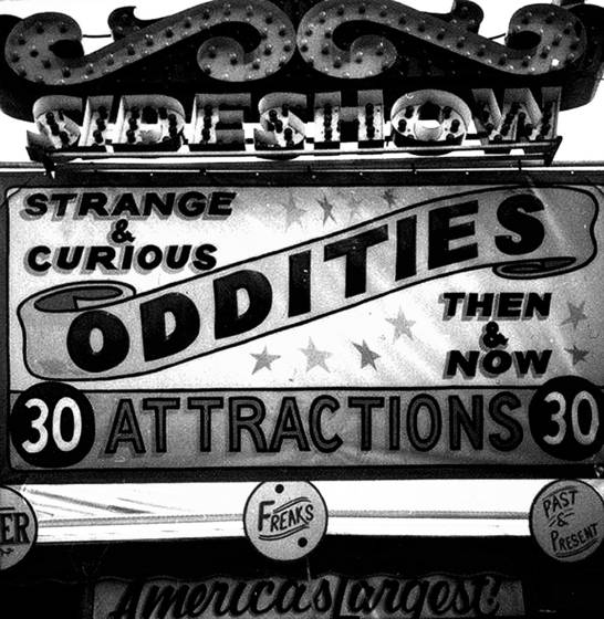 Strange and curious oddities