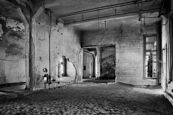Hospital interior  angel island ca  2008