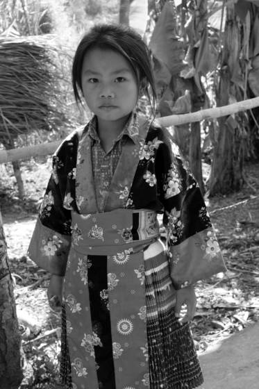 Mekong tribe girl