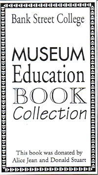 Bookplate from Museum Education Book Collection
