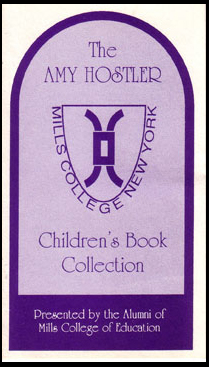 Bookplate from the Amy Hostler Children's Book Collection