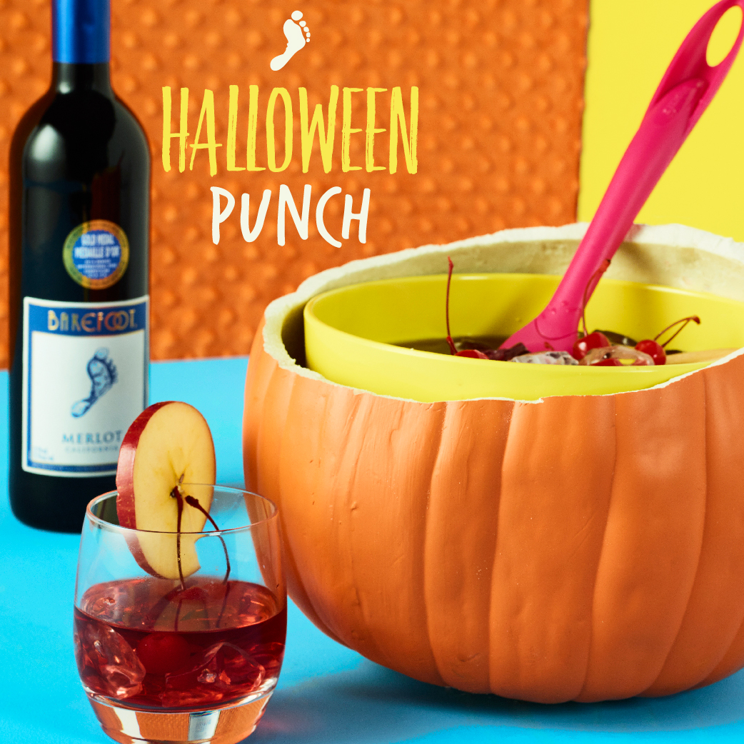 Barefoot Halloween Merlot Cocktail