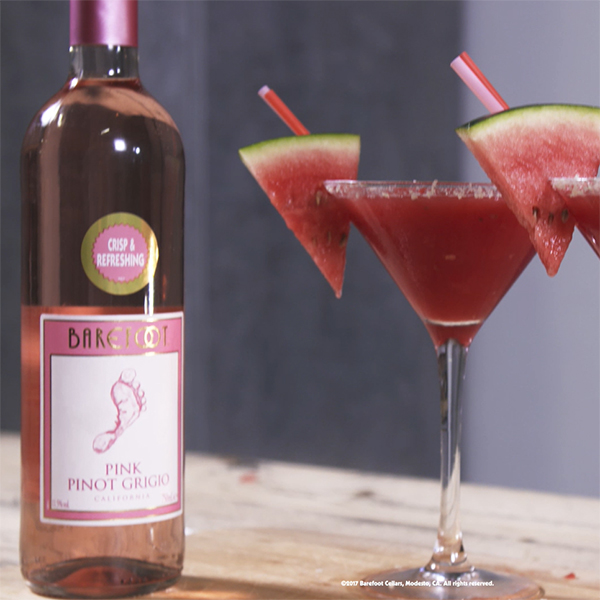 Pink Pinot Grigio Watermelon Frosé