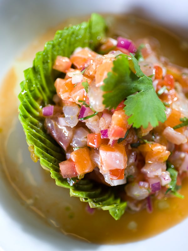 Photo of Salmon Ceviche