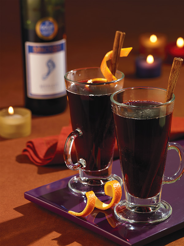 Photo of Easy Barefoot Mulled Merlot