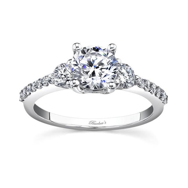 Three Stone Diamond Ring - 7539LW