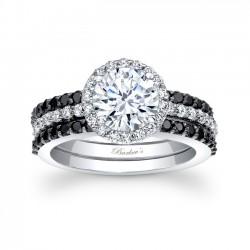 Black Diamond Bridal Set - 7895SBKW