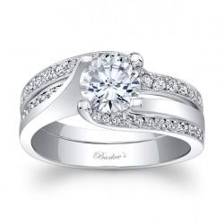 White Gold Bridal Set 7952SW