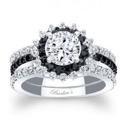 Black Diamond Bridal Set 7969S2BK