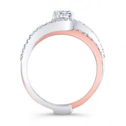 Rose Gold Bridal Set - 7907STW Profile