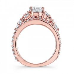 Rose Gold Bridal Set 7950SPW Profile