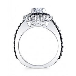 Black Diamond Bridal Set 7969S2BK Profile
