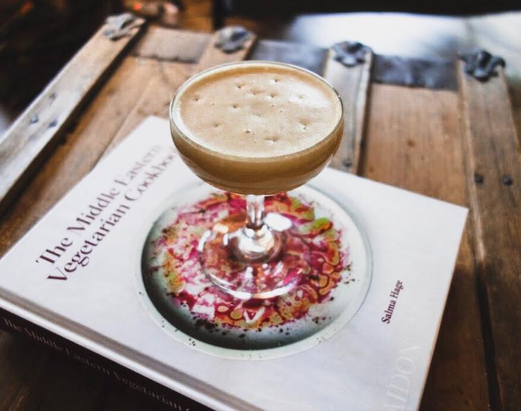 Afternoon Mezze - Hummus Cocktail