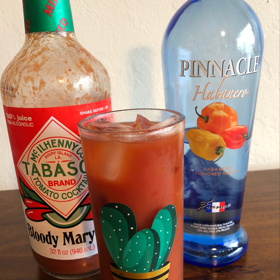 Habanero Bloody Mary