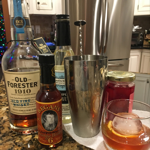 Twice Barreled Old Fashioned
