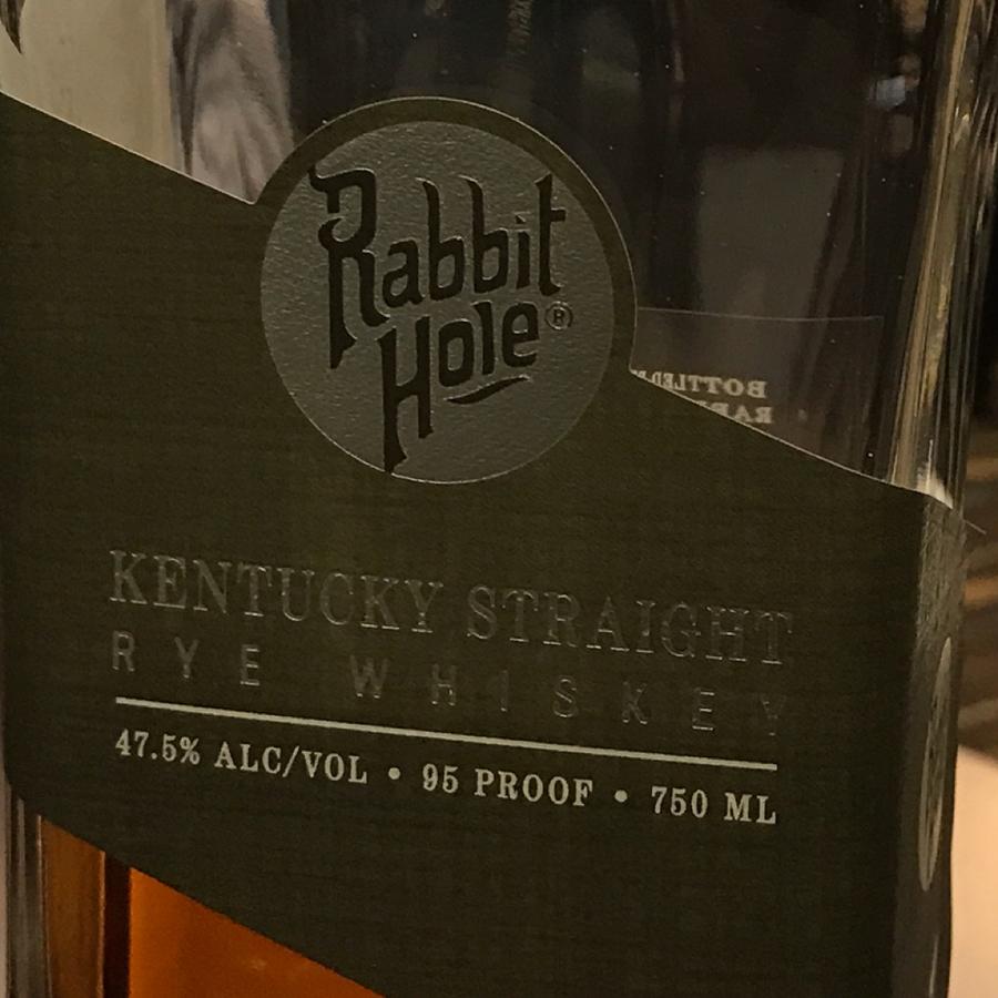 Rabbit Hole Rye Whiskey