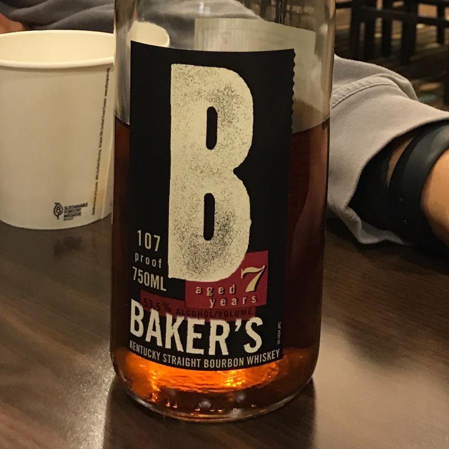 Bakers Whiskey Bourbon